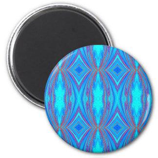 Blue texture magnet
