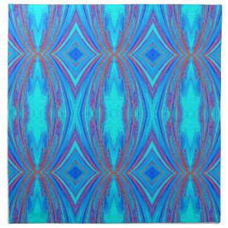 Blue texture napkin