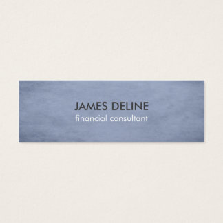 Blue Textured Consultant Business Card