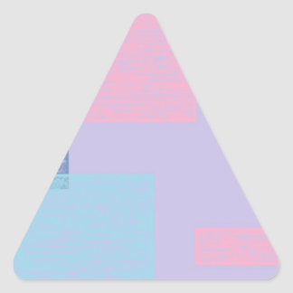 blue textured squares.jpg triangle sticker