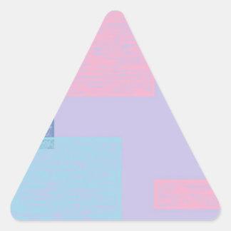 blue textured squares.jpg triangle sticker
