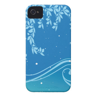 blue theme iPhone 4 cases