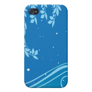 blue theme case for iPhone 4