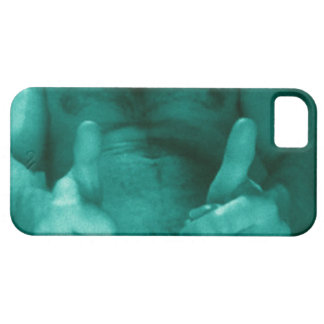 Blue Thumbs Up! phone case