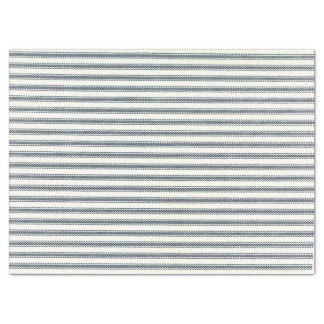 Blue Ticking Tissue Paper
