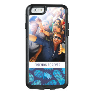 Blue Tie Dye Pineapples | Add Your Photo & Text OtterBox iPhone 6/6s Case