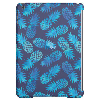 Blue Tie Dye Pineapples iPad Air Cover