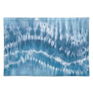 Blue Tie Dye Placemat