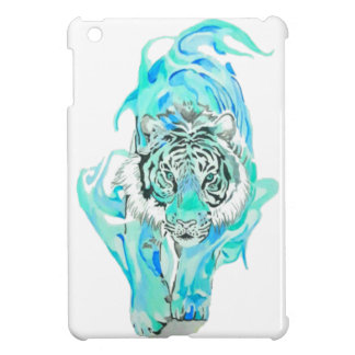 blue tiger iPad mini cases