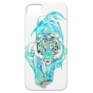 blue tiger iPhone 5 case
