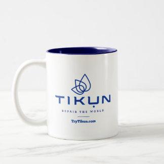 Blue Tikun Coffee Mug