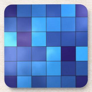 blue tiles coaster