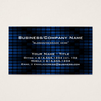 Blue Tiles Modern Contemporary Business Card