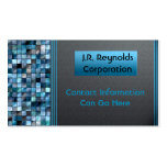 Blue Tiles Professional Business Cards