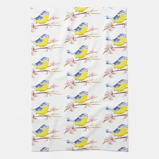 Blue Titbird Towel Kitchen