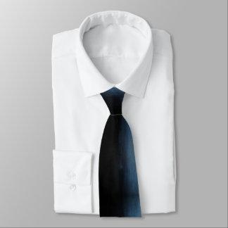 Blue to Black Ombre Tie