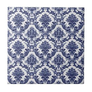 Blue Toile Tile