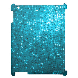 Blue Tones Retro Glitter And Sparkles 2 Cover For The iPad 2 3 4