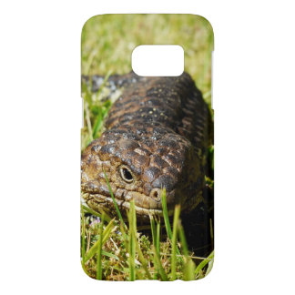 Blue Tongue Lizard,_Samsung Galaxy S7 Case