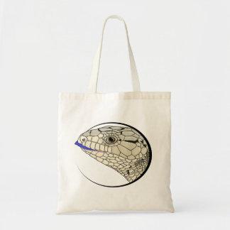 Blue Tongued skink bag