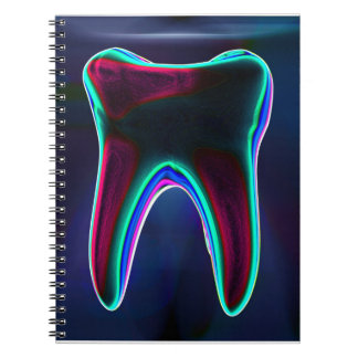 Blue Tooth Dentist Orthodontist Notebook