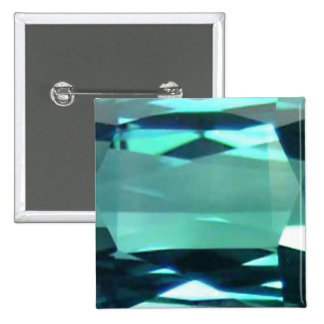 Blue Topaz 4 2 Inch Square Button