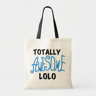 Blue Totally Awesome Lolo T-shirts and Gifts Budget Tote Bag
