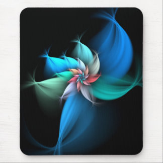 Blue Touch Mouse Pad