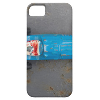 Blue toy car iPhone 5 covers
