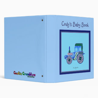 Blue Tractor 3 Ring Binders