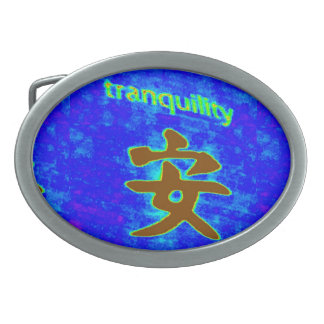 blue tranquility buckle belt buckles