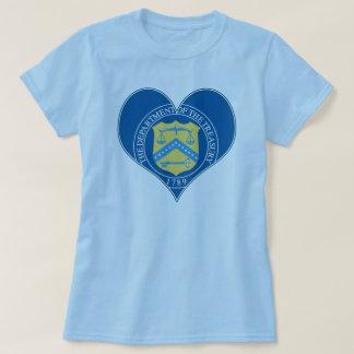 Blue Treasury Heart Seal T-Shirt