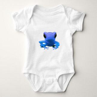 Blue Tree Frog Baby Bodysuit