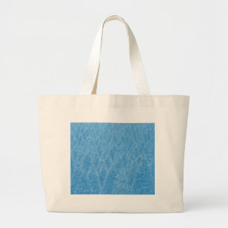 blue tree large tote bag