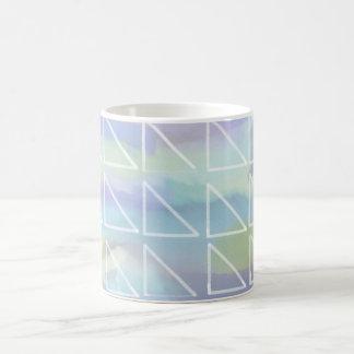 Blue Triangle Mug