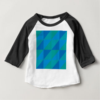 Blue Triangles Baby T-Shirt