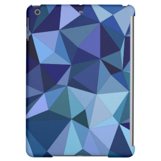 Blue triangles case for iPad air
