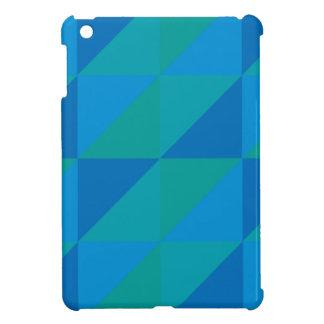 Blue Triangles Case For The iPad Mini
