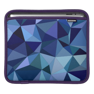 Blue triangles sleeves for iPads