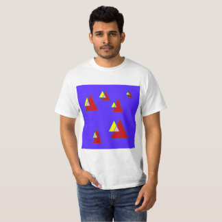 Blue Triangles T-Shirt