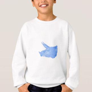Blue Triceratops Head Sweatshirt