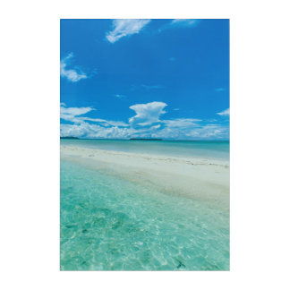 Blue tropical seascape, Palau Acrylic Print