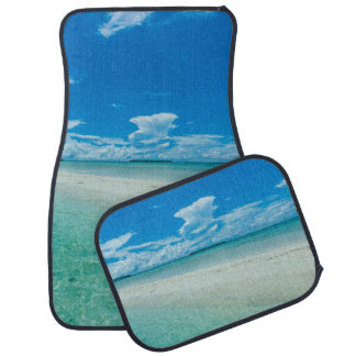 Blue tropical seascape, Palau Car Mat