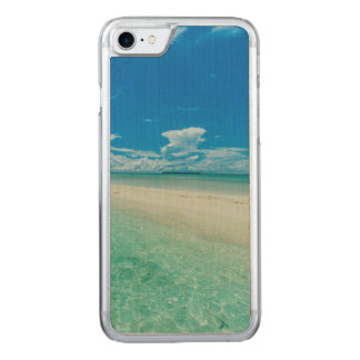 Blue tropical seascape, Palau Carved iPhone 7 Case