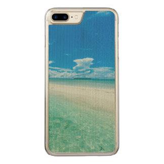 Blue tropical seascape, Palau Carved iPhone 8 Plus/7 Plus Case