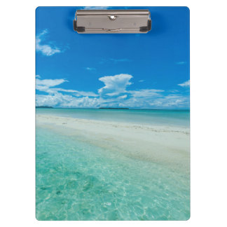 Blue tropical seascape, Palau Clipboard