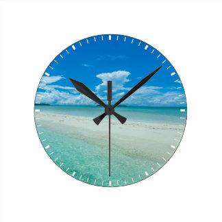 Blue tropical seascape, Palau Clock