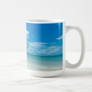 Blue tropical seascape, Palau Coffee Mug