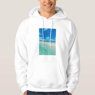 Blue tropical seascape, Palau Hoodie