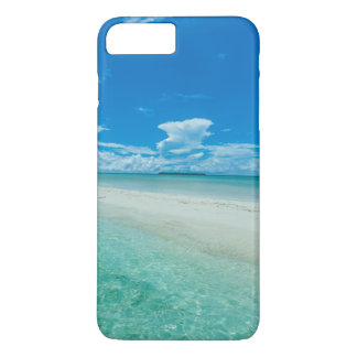 Blue tropical seascape, Palau iPhone 8 Plus/7 Plus Case